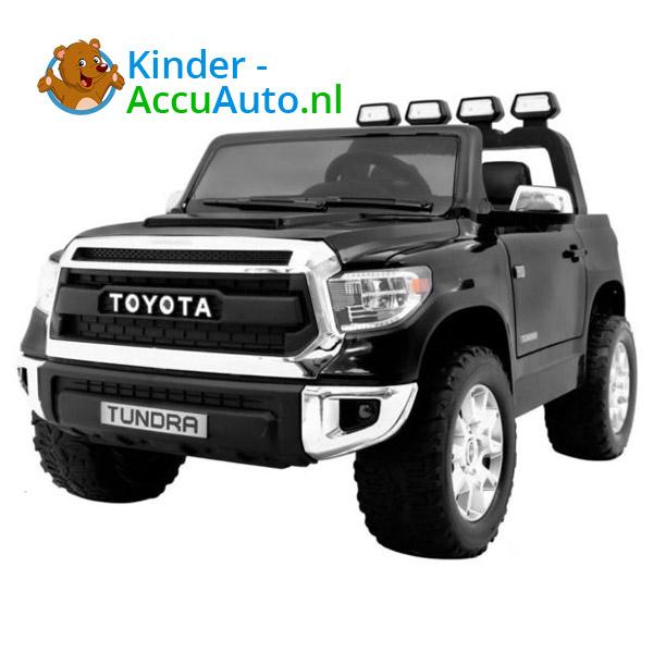 Toyota tundra kinderauto zwart 1