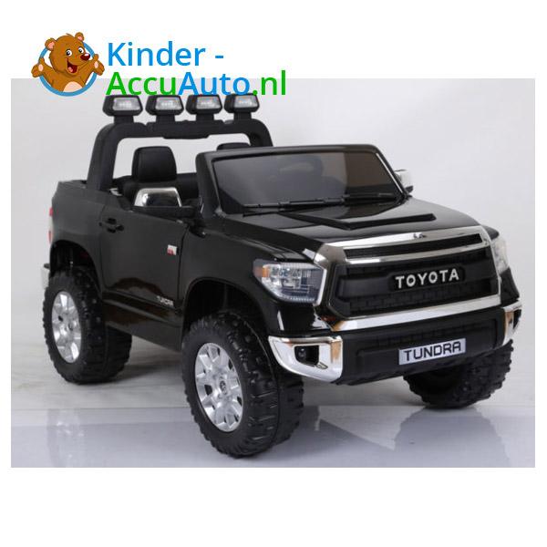 Toyota tundra kinderauto zwart 2