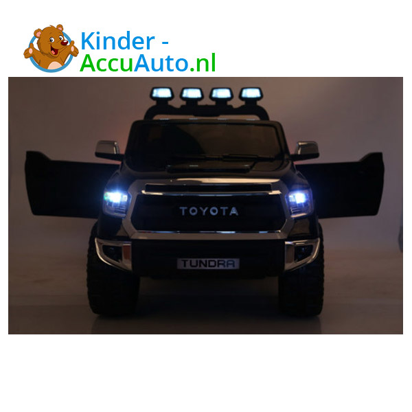 Toyota tundra kinderauto zwart 5