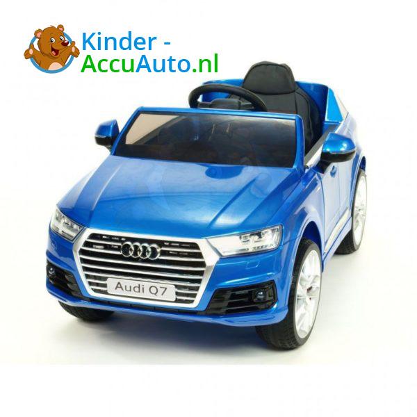 Audi Q7 Kinder Accu Auto Blauw 2