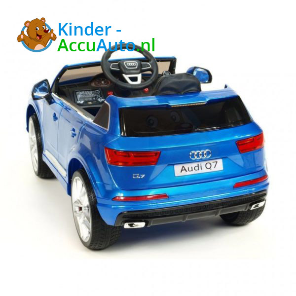 Audi Q7 Kinder Accu Auto Blauw 3