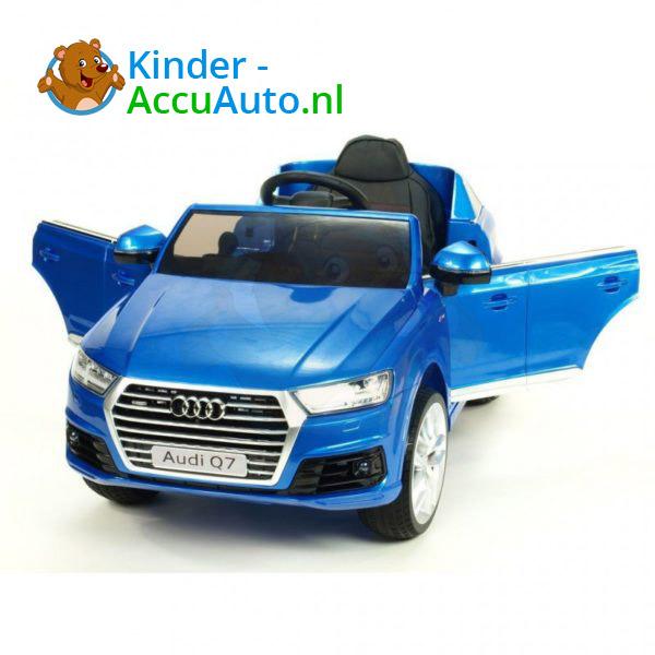Audi Q7 Kinder Accu Auto Blauw 4