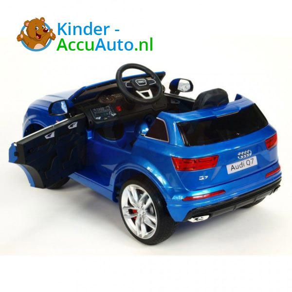 Audi Q7 Kinder Accu Auto Blauw 5