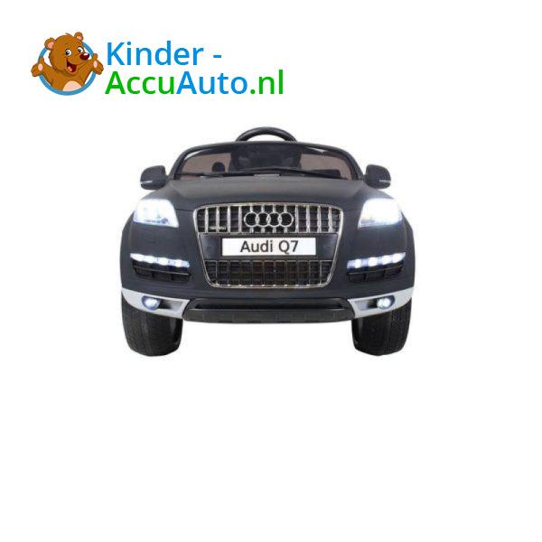 Audi Q7 Kinder Accu Auto Mat Zwart 12
