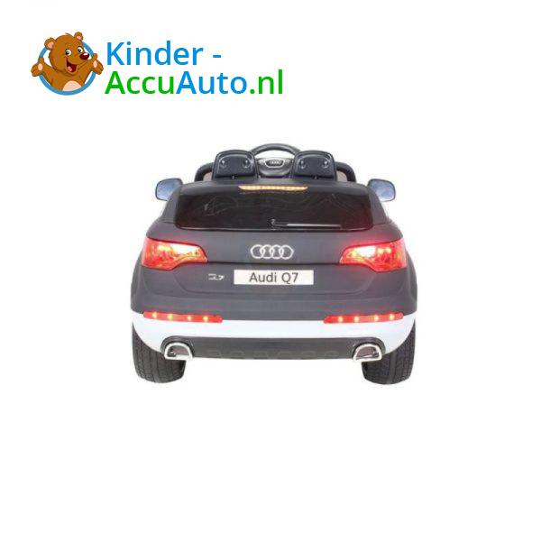 Audi Q7 Kinder Accu Auto Mat Zwart 13