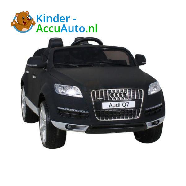 Audi Q7 Kinder Accu Auto Mat Zwart 2