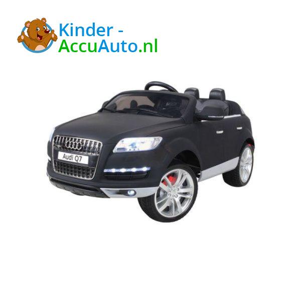 Audi Q7 Kinder Accu Auto Mat Zwart 3