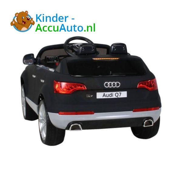 Audi Q7 Kinder Accu Auto Mat Zwart 4