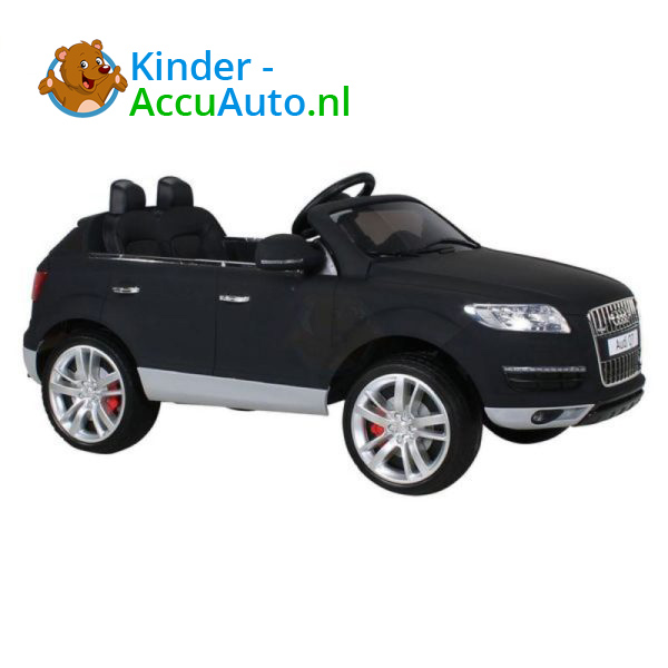Audi Q7 Kinder Accu Auto Mat Zwart 5