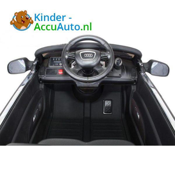 Audi Q7 Kinder Accu Auto Mat Zwart 6