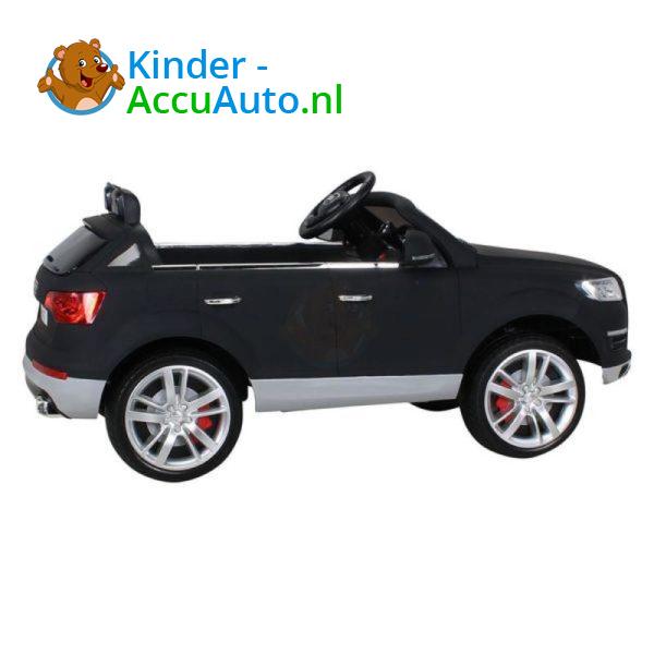 Audi Q7 Kinder Accu Auto Mat Zwart 7