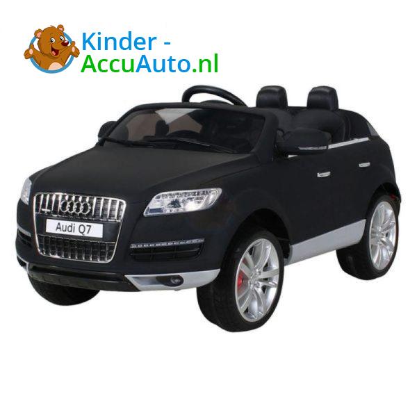 Audi Q7 Kinder Accu Auto Mat Zwart 8