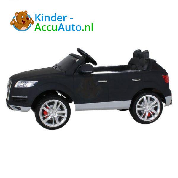 Audi Q7 Kinder Accu Auto Mat Zwart 9