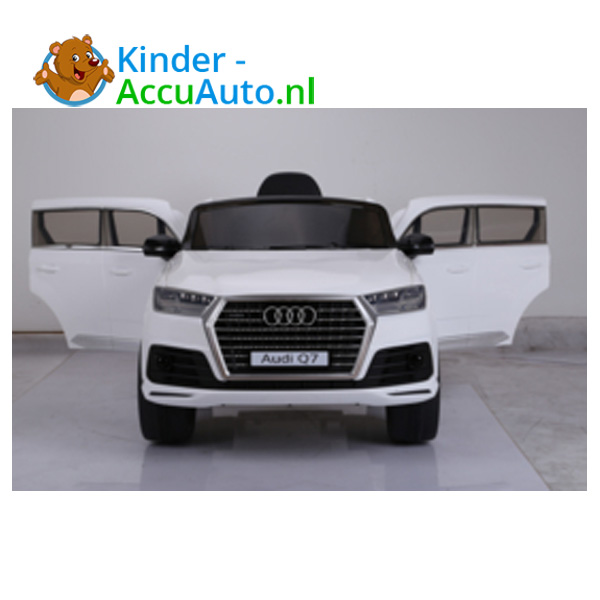 Audi Q7 sline Wit Kinderauto 3