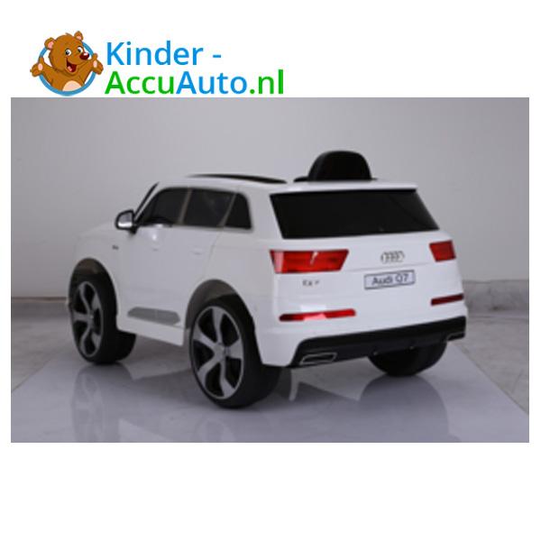 Audi Q7 sline Wit Kinderauto 5
