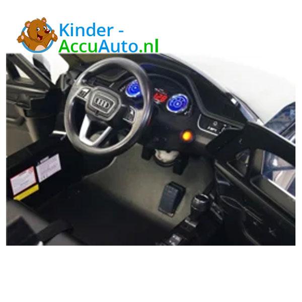 Audi Q7 sline Wit Kinderauto 9