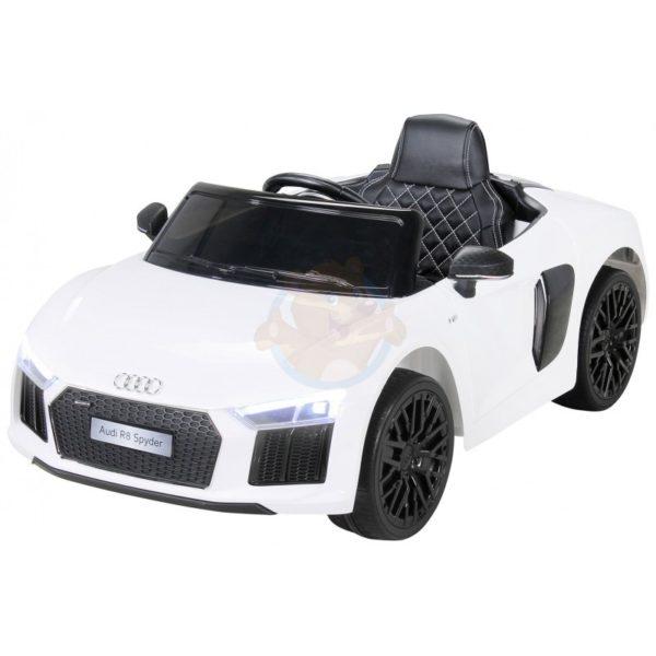 Audi R8 kinderauto wit 4