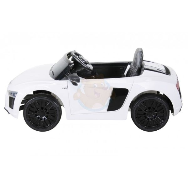 Audi R8 kinderauto wit 6