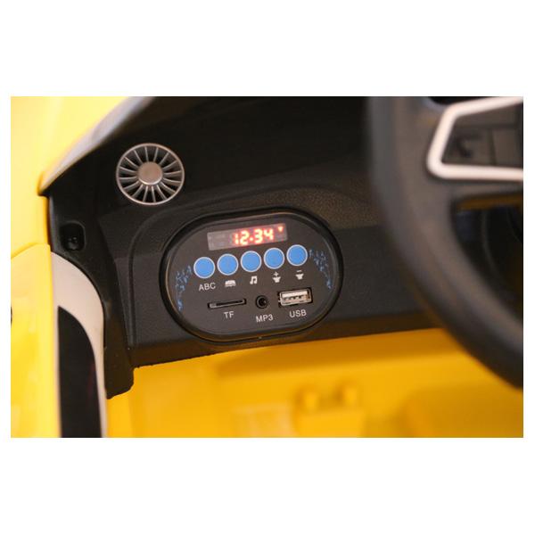 Audi TTRS Geel Kinderauto 10