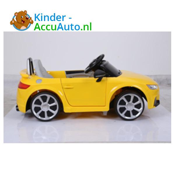 Audi TTRS Geel Kinderauto 2
