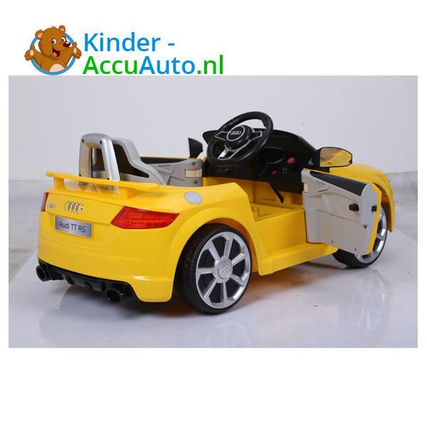 Audi TTRS Geel Kinderauto 3