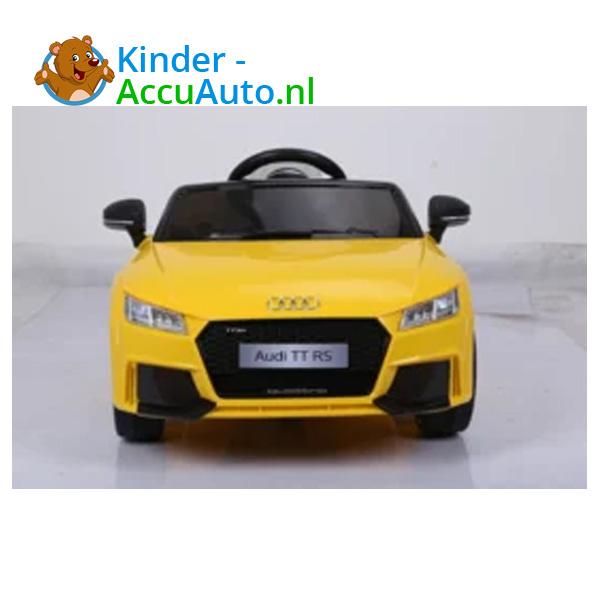 Audi TTRS Geel Kinderauto 4