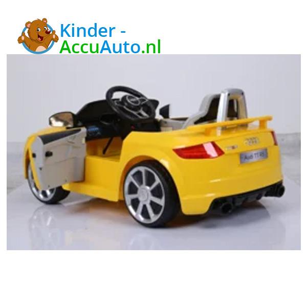 Audi TTRS Geel Kinderauto 5
