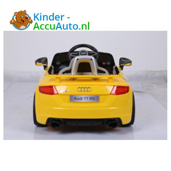 Audi TTRS Geel Kinderauto 7