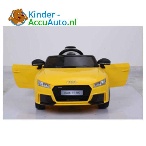 Audi TTRS Geel Kinderauto 8