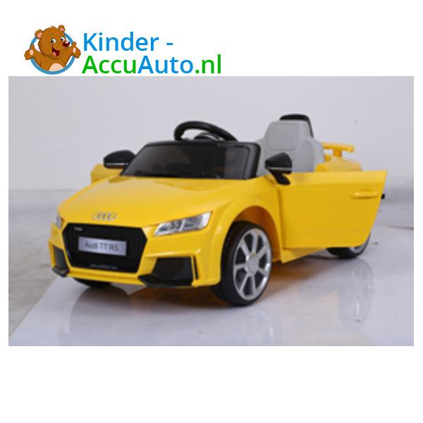 Audi TTRS Geel Kinderauto 9