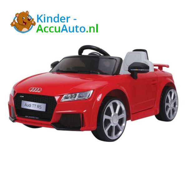 Audi TTRS Rood Kinderauto 1