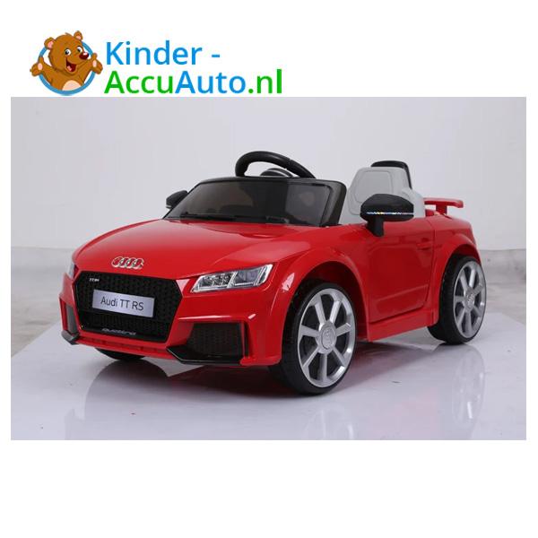 Audi TTRS Rood Kinderauto 10