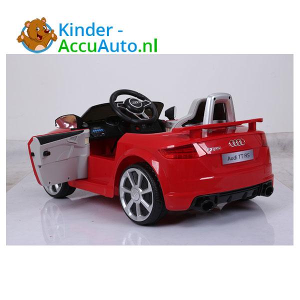 Audi TTRS Rood Kinderauto 13