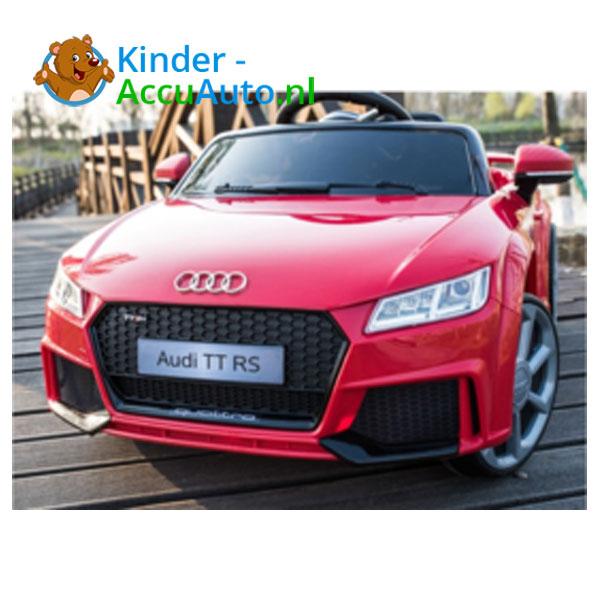 Audi TTRS Rood Kinderauto 2
