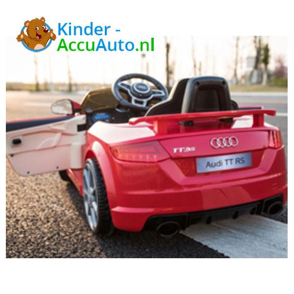 Audi TTRS Rood Kinderauto 4
