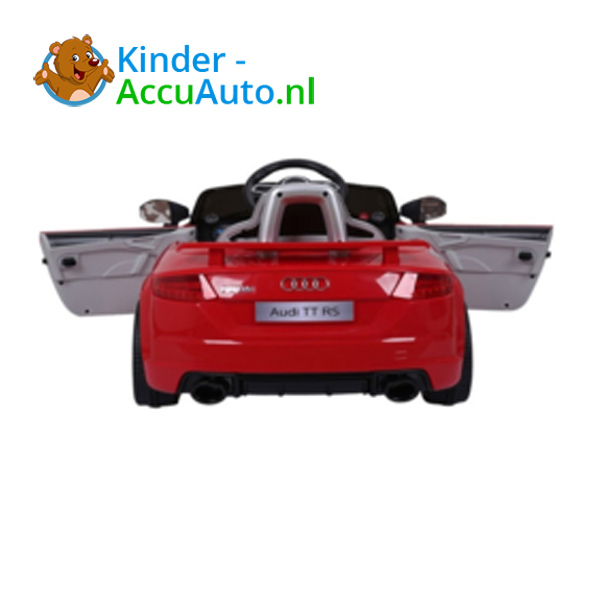 Audi TTRS Rood Kinderauto 6