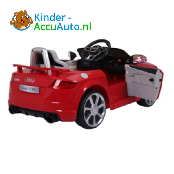 Audi TTRS Rood Kinderauto 7