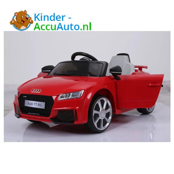 Audi TTRS Rood Kinderauto 9