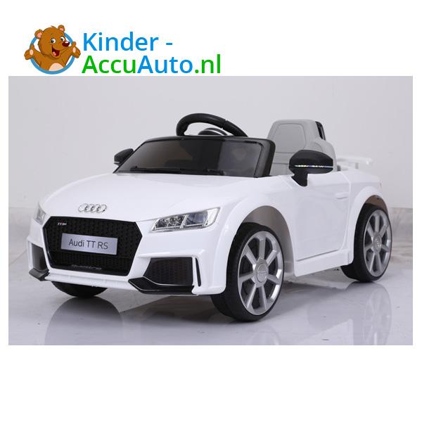 Audi TTRS Wit Kinderauto 12