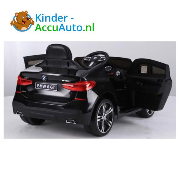 BMW 6GT Zwart Kinderauto 2