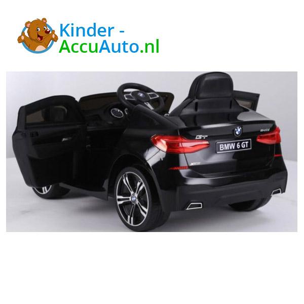 BMW 6GT Zwart Kinderauto 4