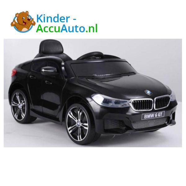 BMW 6GT Zwart Kinderauto 5