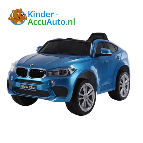 BMW X6M Blauw Kinderauto 1