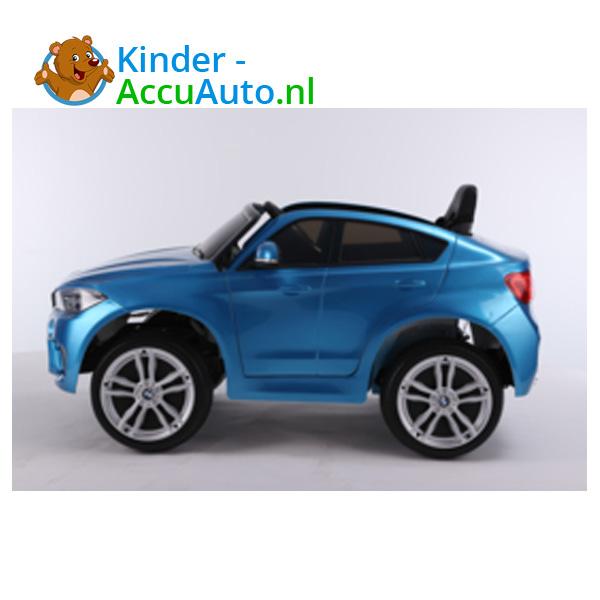 BMW X6M Blauw Kinderauto 2