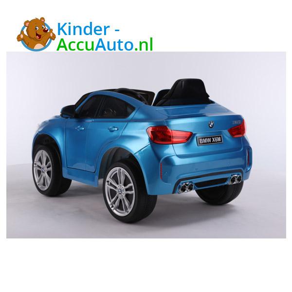 BMW X6M Blauw Kinderauto 3