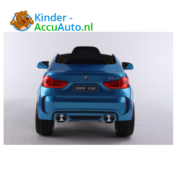 BMW X6M Blauw Kinderauto 4