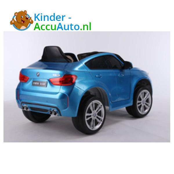 BMW X6M Blauw Kinderauto 5