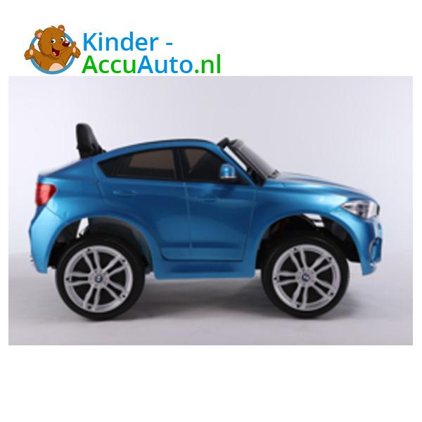 BMW X6M Blauw Kinderauto 6