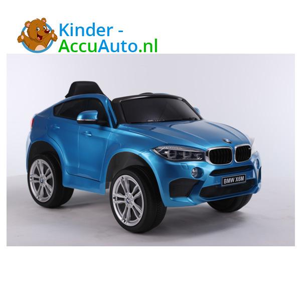 BMW X6M Blauw Kinderauto 7