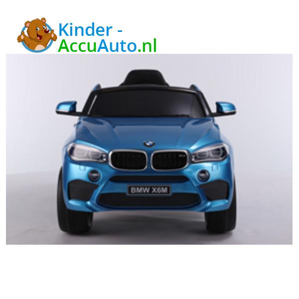BMW X6M Blauw Kinderauto 8